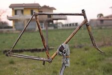 LEGNANO ROMA RACING TEAM BIKE FRAME-VITTORIA MARGHERITA-LATE 30'S EARLY 40'S
