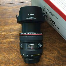 Canon EF 28-70mm F/4 L IS USM Lens Macro Boxed