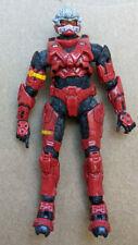 Halo Red Spartan Hayabusa Halo 3 Series 3 McFarlane Figure Great Condition