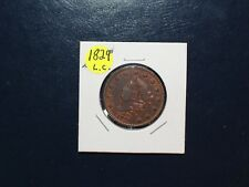 1829 AU - UNC CORONET HEAD LARGE CENT 1C Coin PRICED TO SELL! SEE PHOTOS!