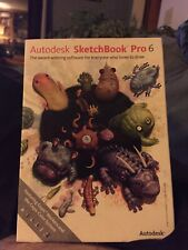 Autodesk SketchBook Pro 6 for PC, Mac - Open But In Great Shape!!