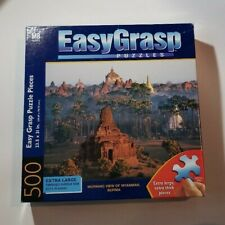 Morning View of Myanmar Burma Puzzle 500 Pieces Milton Bradley EasyGrasp New