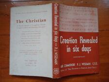 CREATION REVEALED IN SIX DAYS P.J. WISEMAN 1949 HBDJ