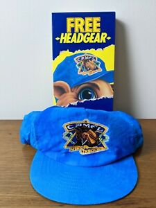 Vintage Joe Camel Cigarettes Smooth Character SnapBack Hat Blue Tie Dyed