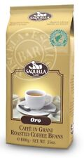 (17,89 €/kg) Saquella Oro bar Rainforest Certified 1000g espresso Fagiolo