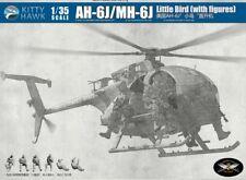 Kitty Hawk 1/35 KH50004 AH-6J/MH-6J Little Bird w/Figures