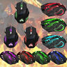 5500 DPI Wired Wireless LED Optical USB Gaming Mouse Game Mice Adjustable Hot