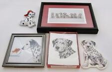 Dalmatian Lover's Gift Set: Note Cards, Note Pad, Framed Pictures, Magnetic Dog