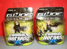 "2009 GI Joe Combat Heroes The Rise Of Cobra Baroness & Shana ""Scarlett"" Ohara"