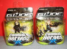 "2009 GI Joe Combat Heroes The Rise Of Cobra Baroness & Shana ""Scarlett"" Ohara"