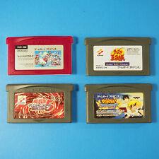 4 Game Lot Mario Bros, Yu-Gi-Oh, Tennis, Zatch Bell Game Boy Advance GBA Japan
