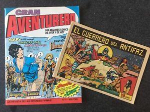 GRAN AVENTURERO Nº 4 + FACSÍMIL - DRAGON COMICS - 1ª EDICION - EDICIONES B  1989