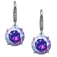 Kirks Folly Enchanted Delight Aurora Borealis Crystal Pierced Earrings ST