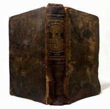 MID-19TH C ANTIQUE BOOK 'STEAMBOAT DISASTERS' 1846 WORCESTER MA W/ILLUSTRATIONS