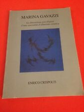 MARINA GAVAZZI ENRICO CRISPOLTI LIBRO DE ARTE