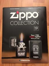 DEAGOSTINI ZIPPO LIGHTER COLLECTION MOTORCYCLE CLUB ISSUE 19 & MAGAZINE