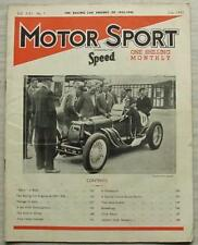 MOTOR SPORT Magazine July 1945 SPECIAL 2 LITRE ASTON MARTIN Bentley Rolls Royce