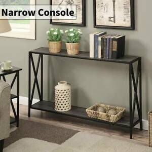 Hallway Console Table Hall Entryway Living Room Furniture Side Table W/ Storage