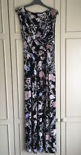 Pretty Floral Long Length Dress from George. Size 14.