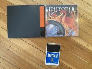 Neutopia (TurboGrafx-16, RPG) - HuCard, Manual, and Case, Complete CIB, Tested!