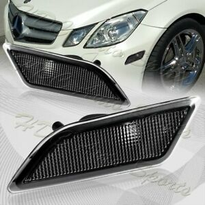 For 2010-2013 Mercedes W212 E-Class Clear Lens Turn Signal Side Marker Lights