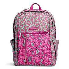 Vera Bradley Lighten Up Grand Backpack in Ditsy Dot