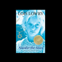 Number the Stars by Lois Lowry a paperback book  for Young Readers FREE SHIPPING