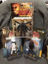 3 Puppet Master Retro Figures Six Shooter & Blade X2 Bloody Varient Full Moon