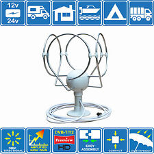 KORONA LITE MOTORHOME BOAT TRUCK DIGITAL ACTIVE OMNIDIRECTIONAL TV RADIO AERIAL