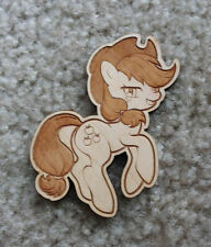 "Applejack My Little Pony MLP FIM 4"" Wood Magnet"
