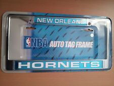 New Orleans Hornets Pelicans NBA Team Rico Industries Laser License Plate Frame