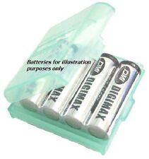 4 x batería de almacenamiento Funda Para Pilas Aa