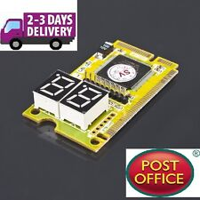 POST CARD Diagnostic 3 in 1 Mini PCI/PCI-E LPC Pc Analizzatore Tester POST CARD
