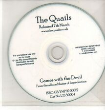 (CQ358) The Quails, Games With The Devil - DJ CD