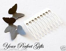 "10 2"" Silver Metal Hair Comb Wedding Bridal Tiara Craft"