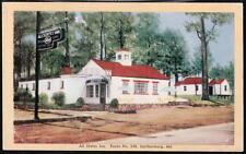 GAITHERSBURG MD All States Inn Restaurant Cottage Motel Vtg Maryland Postcard PC