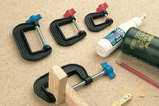 """Linic UK Made Set x 3 2"""" 50mm G Clamps Clamp Hobbies Model Railways H4101"""