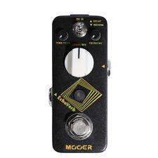 Mooer Echoverb Digital Delay & Reverb Guitar Effects Pedal + Picks