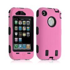 coque pour Apple Iphone 3G / 3GS couleur rose + Film de protection