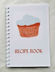My Recipe Book Cupcake COLLECT YOUR OWN RECIPES by Curiosity Crafts