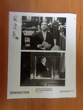 Vintage Glossy Press Photo Movie Character Fedja Van Huet Jan Decleir