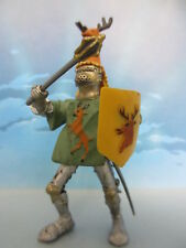 FIGURINE COLLECTION PLASTOY CHEVALIER CHEVAL MEDIEVAL MOYEN AGE KGNIGHT -102