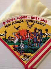 OA Lodge 326 Host Lodge 2015 70th Florida Conference Pie Patch On Silk N