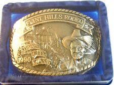 1990 Flint Hills Rodeo Belt Buckle 72714