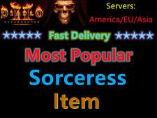 DIABLO 2: RESURRECTED D2R, Most popular Sorceress Item , Fast Delivery Diablo II