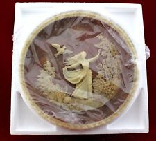 """Incolay Studios Plate """"To  A Skylark"""" Gayle Bright Appleby 1979"""