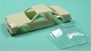 custom resin '78 ford fairmont aurora thunderjet ho slot car body kit