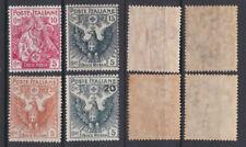 ITALY 1915 Red Cross Mint *  Sc.B1-B4 (Sa.102/105)