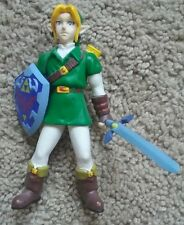 "1998 BD&A Nintendo Legend Of Zelda Ocarina Of Time 5"" Link Action Figure - RARE"