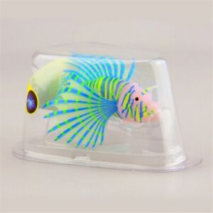 Aquarium Artificial Luminous Lionfish Fish Tank Aquatic Landscape Silicone Jelly